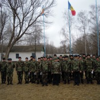 Peacekeepers trained for the Security Zone of the Republic of Moldova